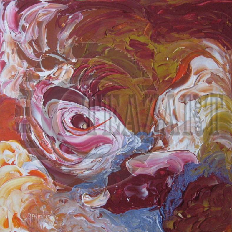 INDIA [Original $350] Artist: TzTahala