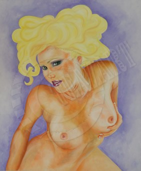 Maeve - Nude In Oil